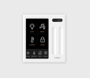 Brilliant Smart Home Control Two Switch