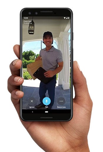 Google Nest Hello doorbell shows you visitors head to toe