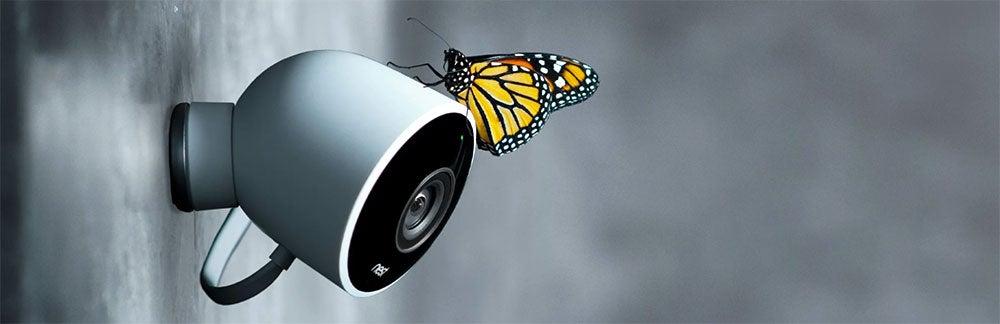 Google Nest Cam weatherproof outdoor security camera