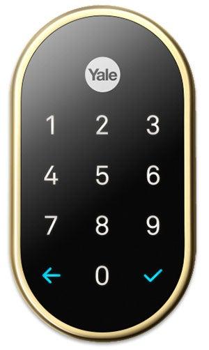 Google Nest x Yale Smart Lock in Polished Brass