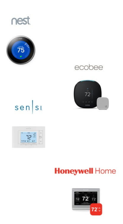 Smart thermostats compatible with Demand Response