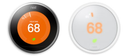 Nest thermostat sensors work with Nest E thermostat and Nest Learning 3rd Generation thermostat.