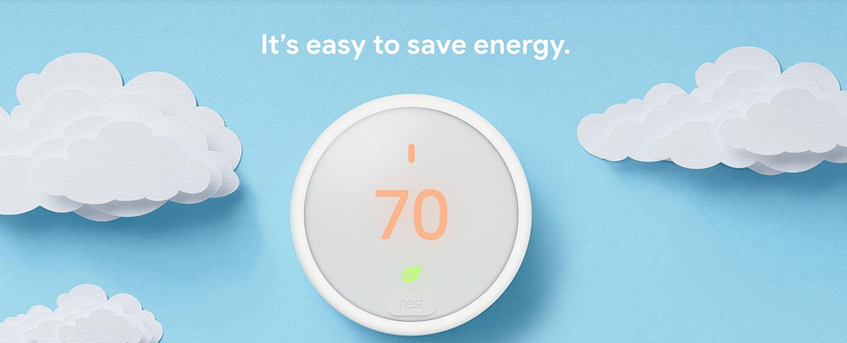 Google Nest E Smart Thermostat
