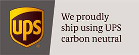 We are proud to ship carbon neutral