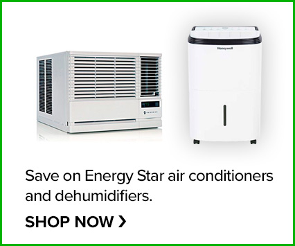 Save on Energy Star Air Purifiers and Window A/C's