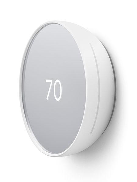 Snow Google Nest Thermostat