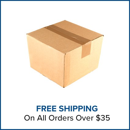 FREE Shipping on all orders over $35!