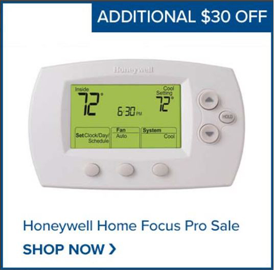 Shop the Honeywell Home Pro Smart Thermostat!