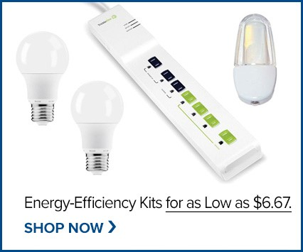 Discounted Home Efficiency Kits!