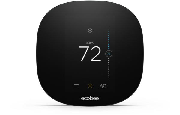 ecobee3 Lite Thermostat programs itself and helps you save energy