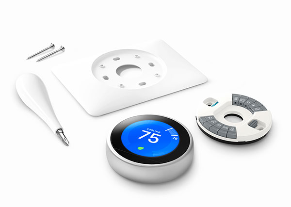 Google Nest Learning Thermostat installation - What's included in box