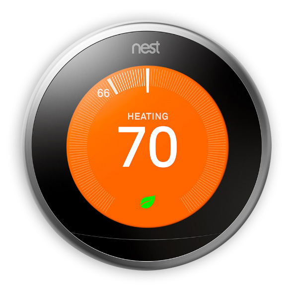 Google Nest Learning Thermostat learns your behavior to program itself in one week