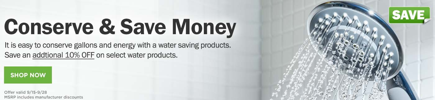 SHOP Water Conservation Products NOW!
