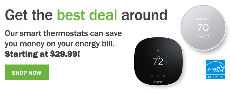 Get the best deal around. The all new Google Nest Thermostat